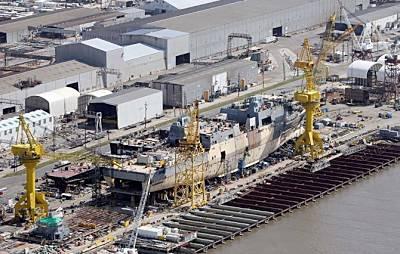 Marineforum - Avondale Shipyard (Foto: Times Picayune)