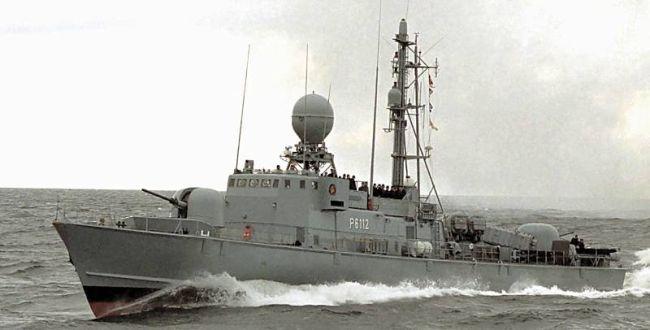 Marineforum - Deutsches Schnellboot der ALBATROS-Klasse (Foto: Michael Nitz)