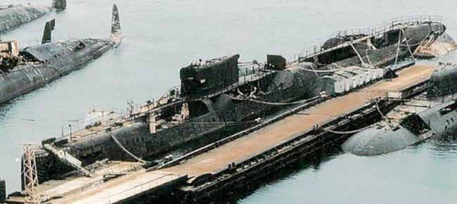 Marineforum - K-431 an der Pier in der Pavlovsk Bucht (Foto: submarina.org)
