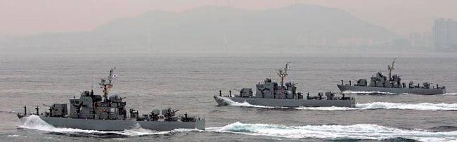 Marineforum - Südkoreanische Schnellboote (Foto: Michael Nitz)