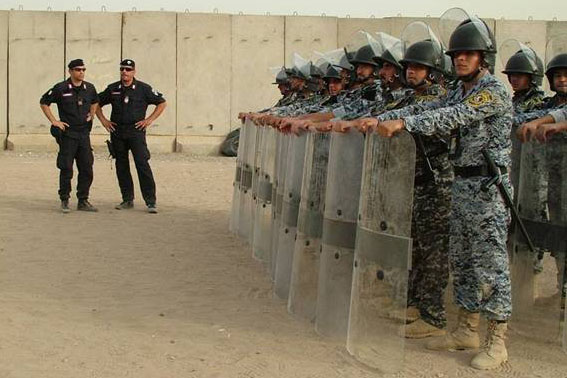 Iraq — Italian Carabinieri have trained 9000 Iraqi Federal Police