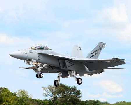Boeing Completes Production of 1st Australian Super Hornet
