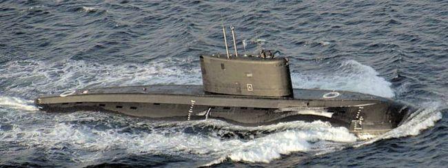 Marineforum - Russisches Export-U-Boot der KILO-II Klasse (Foto: Deutsche Marine)
