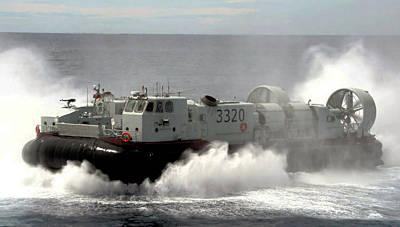Marineforum -Prototyp eines chinesischen Luftkissenbootes (Foto: MOD China)