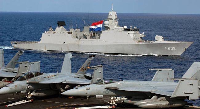 Kooperation wie hier mit der niederländischen Marine (Foto: US Nacy)