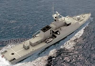 Marineforum - Neues OPV für Thailand (Grafik: BAe Systems)