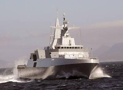 Marineforum - Südafrikanische Fregatte (Foto: SAN)