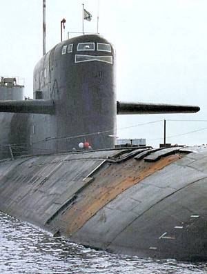 Marineforum - Beschichtungslücken bei russischem DELTA-IV (Foto: ITAR/TASS)