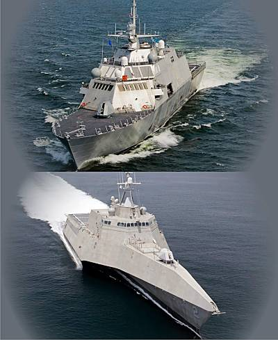 Marineforum - Littoral Combat Ships (Fotocollage: US-Navy)