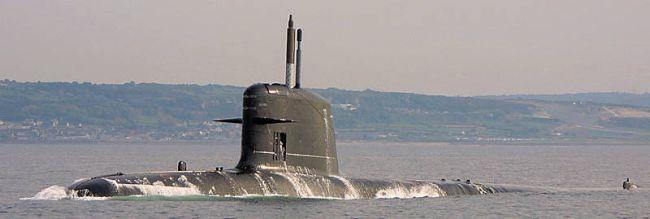 Marineforum - Chilenisches U-Boot der SCORPENE-Klasse (Foto: chil. Marine)