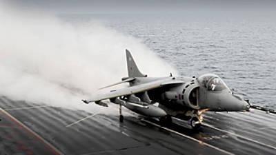 Marineforum - Letzter Harrier-Start (Foto: Royal Navy)