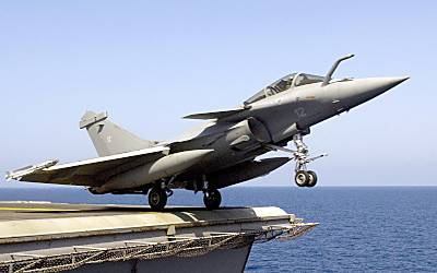 Marineforum - Rafale M (Foto: US Navy)