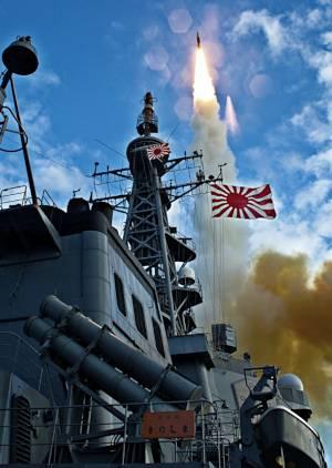 Marineforum - KIRISHIMA b eim erfolgreichen Testschuss