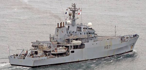 Marineforum - HMS ECHO (Foto: Michael Nitz)