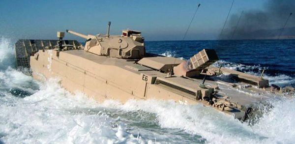 Marineforum - EFV Prototyp bei Erprobung (Foto: US Marine Corps)