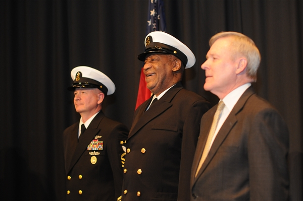 Navy Hails Cosby as Honorary Chief Petty Officer