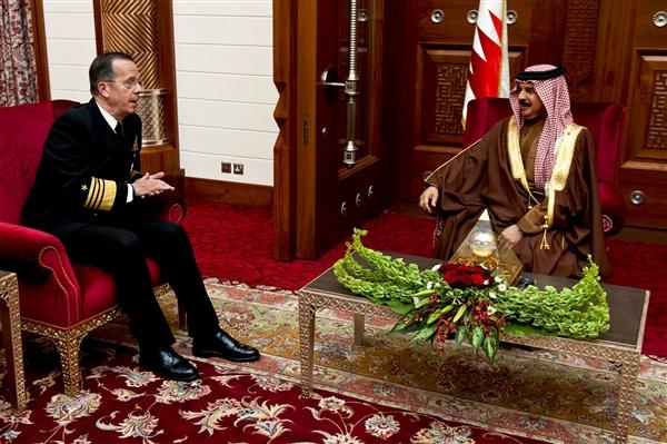 Mullen Reaffirms American-Bahraini Alliance
