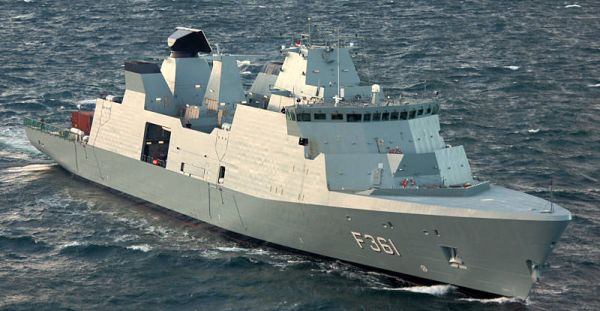 Marineforum - IVER HUITFELDT (Foto: Royal Danish Navy)