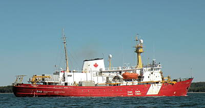 Marineforum - HUDSON - Ruhestand absehbar (Foto: Canadian Coast Guard)