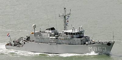Marineforum - Minenjagdboot der ALKMAAR-Klasse (Foto: Michael Nitz)