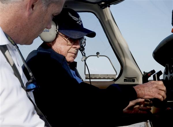 Face of Defense: War Veteran Hangs Up Wings at Age 90