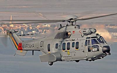 Marineforum - UH-15 Super Puma (Foto: Eurocopter)