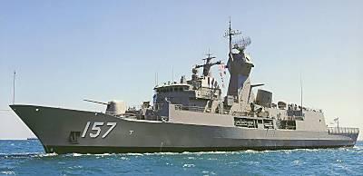 Marineforum - PERTH mit neuem APAR Radar (Foto: austr. Marine)