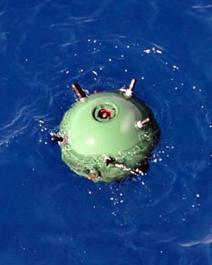 Marineforum - Mine vor Misrata (Foto: franz. Marine)