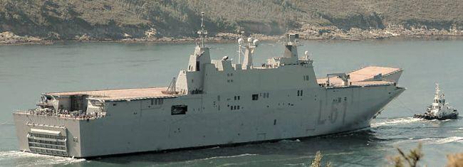 Marineforum - JUAN CARLOS I (Foto: Navantia)