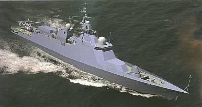 Marineforum - Neue ukrainische Korvette (offz. Grafik)
