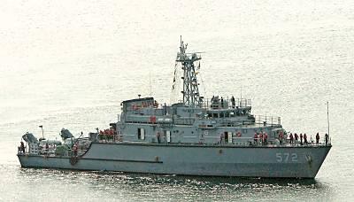 Marineforum - Südkoreanisches Minenjagdboot vom Typ SK-5000 (Foto: Michael Nitz)