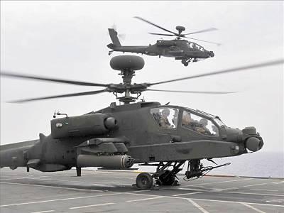 Marineforum - Apache auf der OCEAN (Foto: Royal Navy)