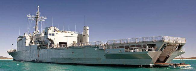 Australien — Unangenehme Folgen durch vorzeitige Ausmusterung der Landungsschiffe MANOORA und KANIMBLA