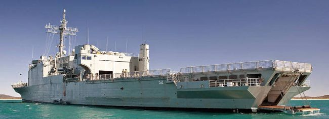 Marineforum - MANOORA (Foto: austr. Marine)