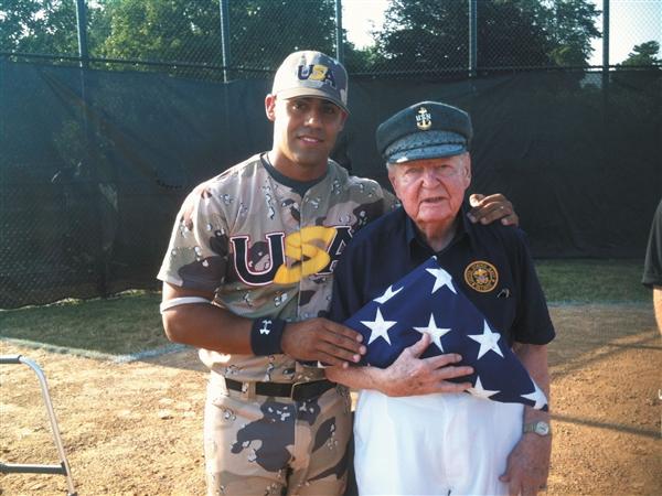 Face of Defense: Airman Honors Vets Via Baseball