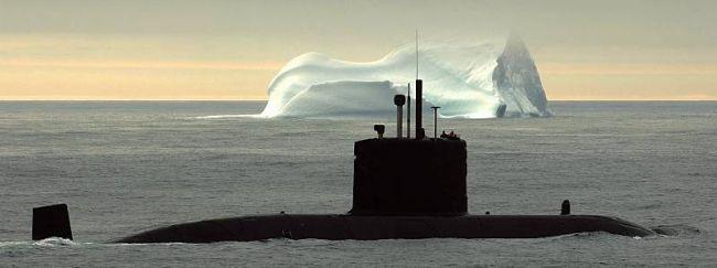 Marineforum - CORNER BROOK bei einer Arktis-Übung (Foto: kanad. Marine)