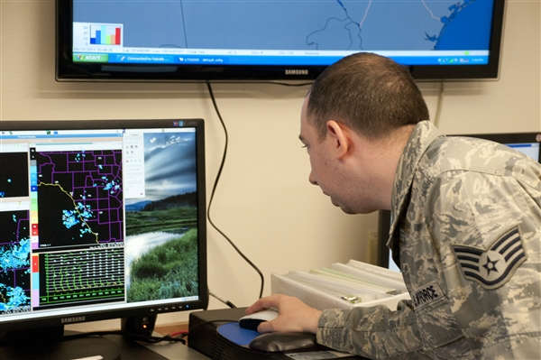 Face of Defense: Airman Improves Dust Storm Predictability