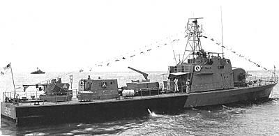 Malaysia — Glück im Unglück hatte am 15. September ein Schnellboot der JERONG-Klasse