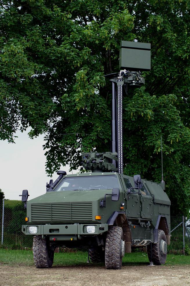 CASSIDIAN has developed the most powerful ground surveillance radar worldwide