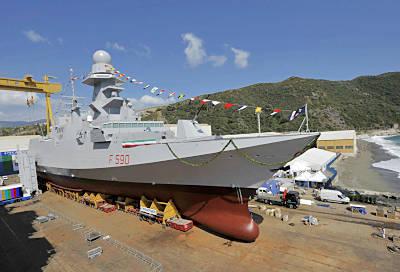 Marineforum - Stapellauf für BERGAMINI (Foto: ital. Marine)