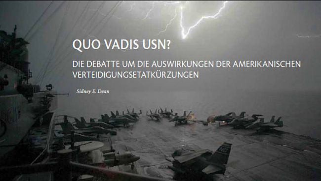 USA — Quo Vadis US-Navy?