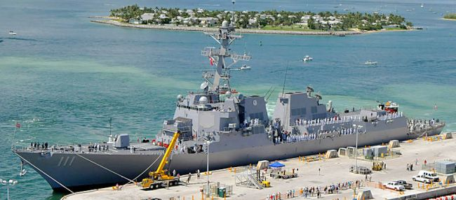 Marineforum - SPRUANCE in Key West (Foto: US Navy)