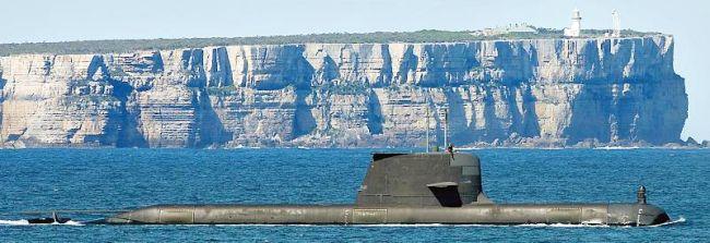 Marineforum - U-Boot COLLINS (Foto: RAN)