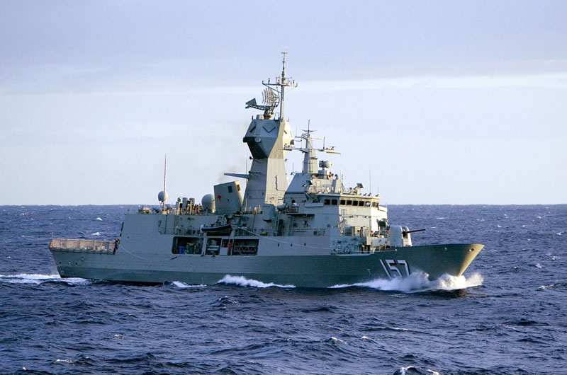 New Cutting Edge Missile Defence System for Anzac Class Ships