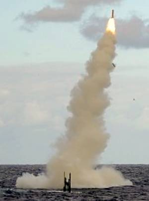 Marineforum - ASTUTE schießt Tomahawk (Foto: MODUK)