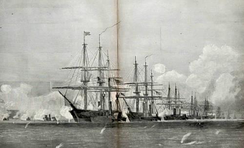 Der amerikanische Bürgerkrieg — Erster »neuzeitlicher« Seekrieg