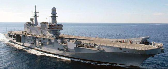 Marineforum - CAVOUR (Foto: ital. Marine)