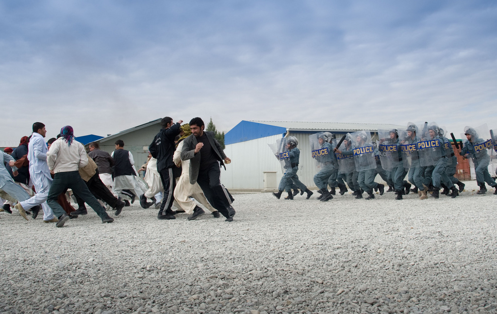 Afghanistan — Central Training Center graduates 229 policemen