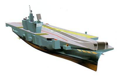 Marineforum - VIKRANT (Grafik: MoD India)