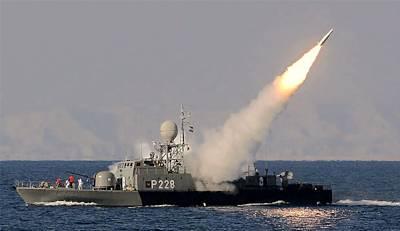 Marineforum - Start der Mehrab (Foto: staatl. iranische Medien)